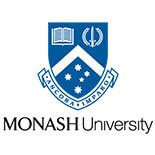 Monash University Crest Blue and Black