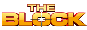 The Block Logo yellow and red